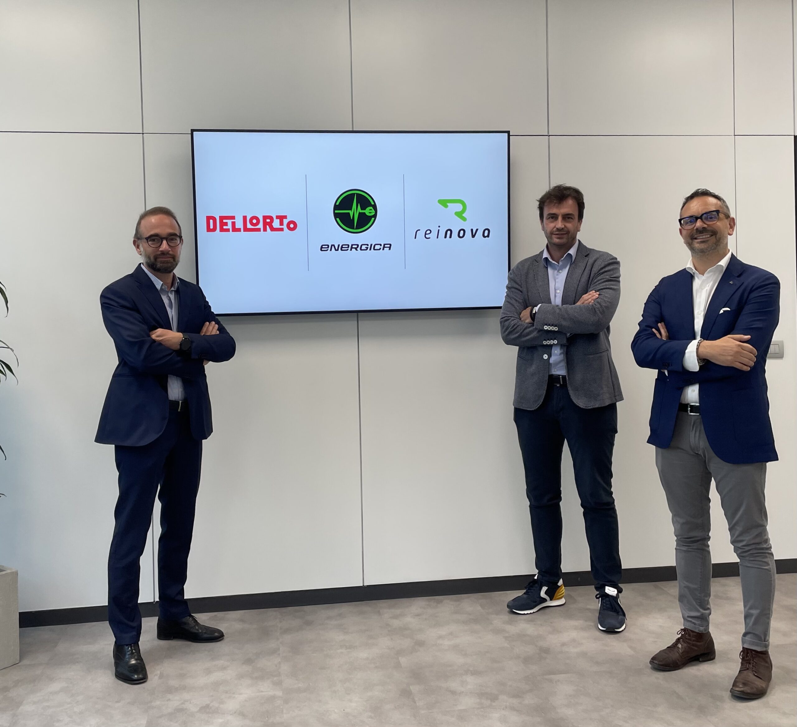 Dell'Orto S.p.A. and Energica Motor Company S.p.A. choose Reinova to continue the E-POWER project, strengthening services to OEMs and expanding the product range to complete the new approach to electric mobility